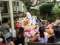 Children's Universal Worship in the Garden